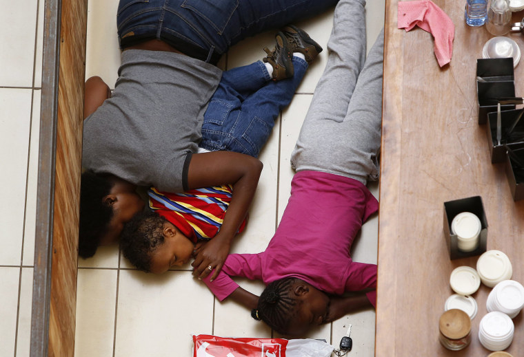 Mom in iconic photo kept little kids still for hours during Kenya mall siege