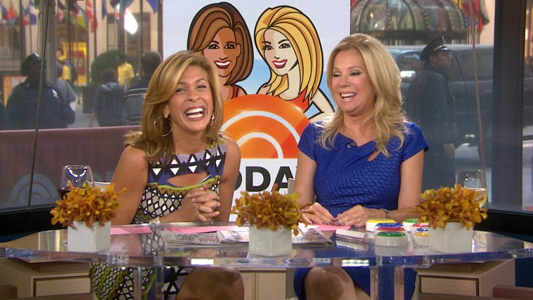 Hoda and Kathie Lee talked about their dreams.