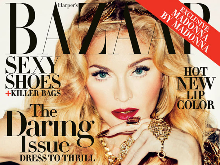 Madonna writes about her journey to be daring for Harper's Bazaar.
