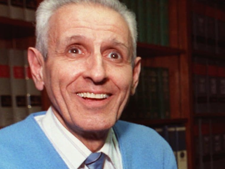 Dr. Jack Kevorkian poses with his