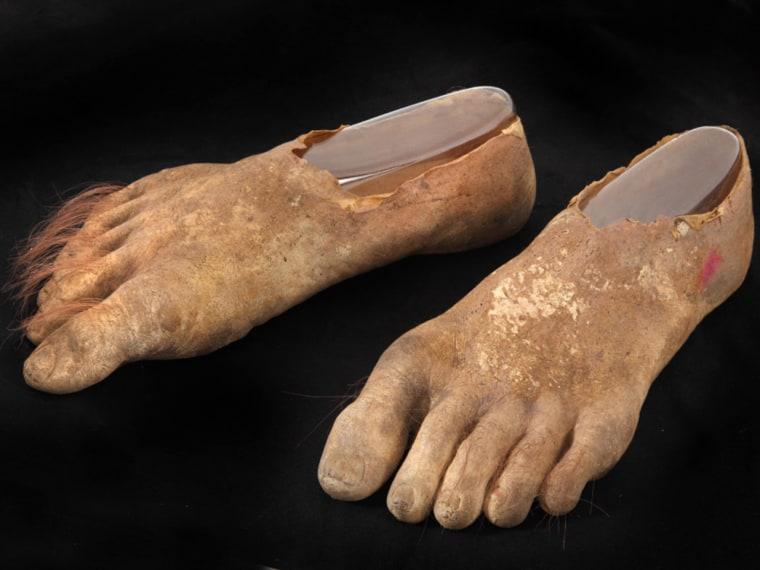 Samwise Hobbit Prosthetic Feet