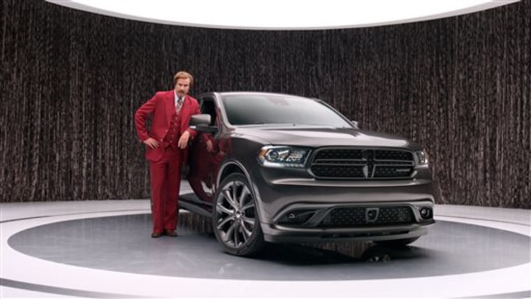Chrysler taps 'Ron Burgundy' for offbeat ads