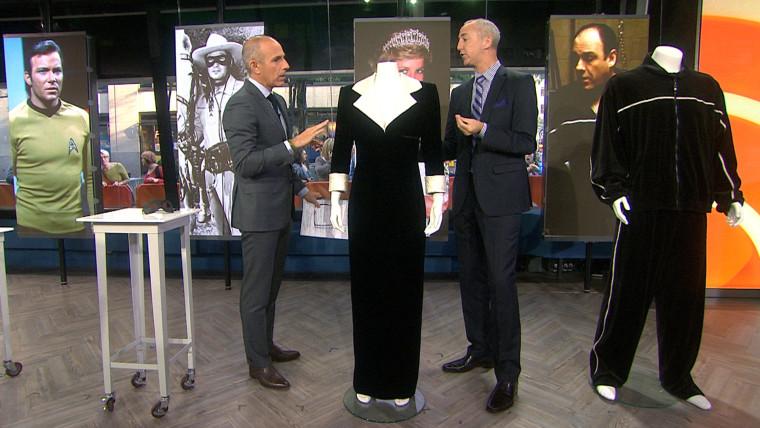 Matt Lauer, Martin Nolan, Princess Diana dress