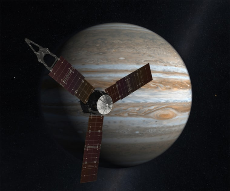 Jupiter-bound Juno probe encounters glitch after Earth flyby