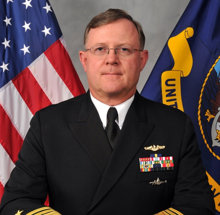 Vice Adm Tim Giardina In A 2011 Photo Provided By The US Navy