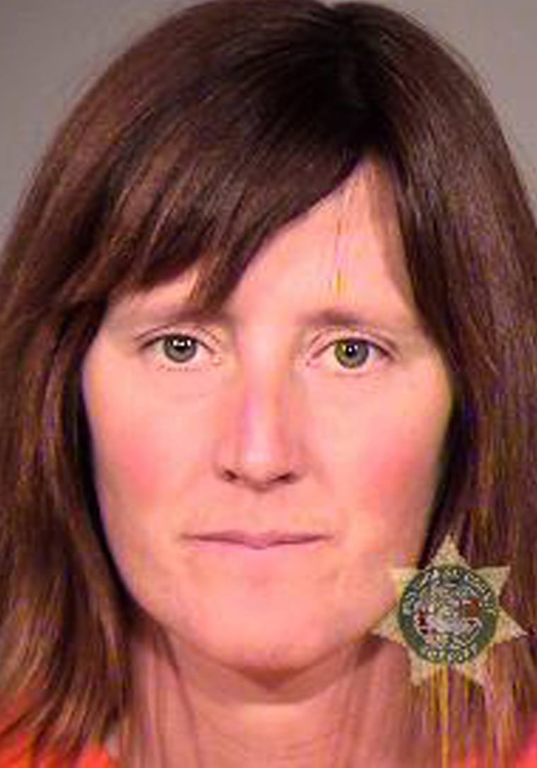 Rebecca Jeanette Rubin, in an undated law enforcement photo, turned herself in at the Canada-Washington border in November 2012 after a decade as a fugitive.