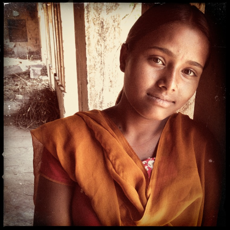 ""\""""I came to school and told the girls 'I am about to get married,'"""" said Rajyanti Bairwa, 17, above. """"I asked the girls to go to my parents and tell them not to let the marriage happen. With their help, I refused the marriage because I want to study and be something. In life I want to be a doctor.""""""760|760|?|en|2|b0910f91c8fe5a8cce74014f5d516f85|False|UNLIKELY|0.30628085136413574