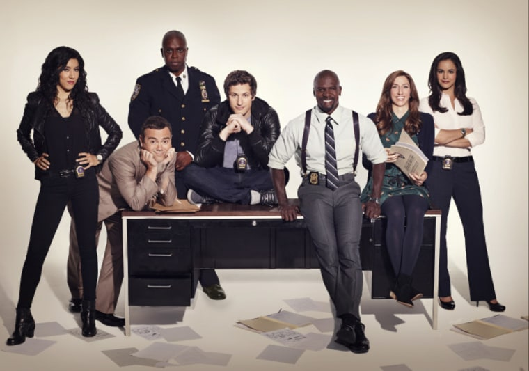 """Brooklyn Nine-Nine"" is Fox's new comedy starring Andy Samberg and Andre Braugher."