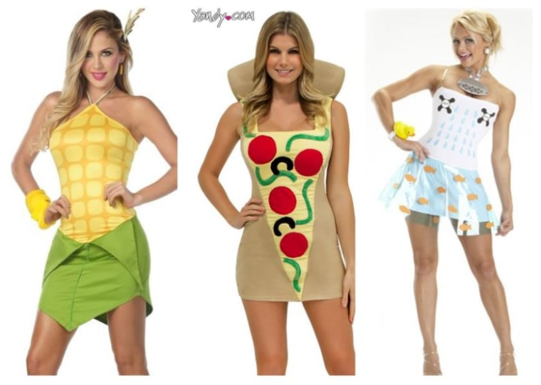 Sexy Pizza Halloween Costumes Get Absurd