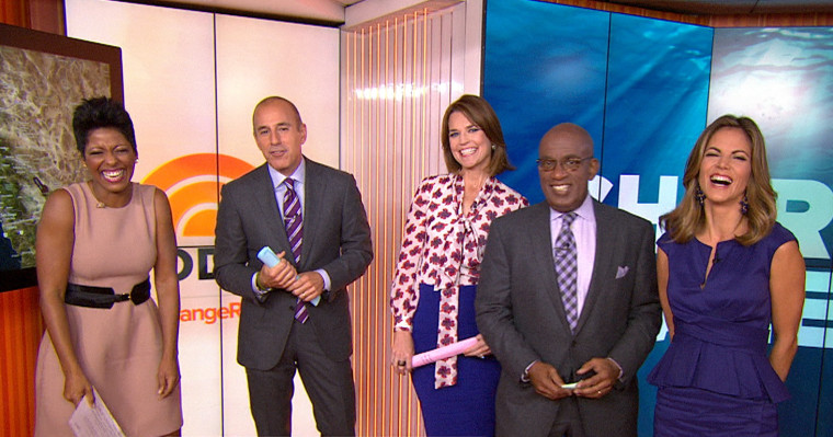 TODAY's anchors don purple for Spirit Day
