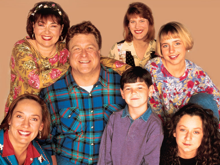 "Image: Cast of ""Roseanne"""