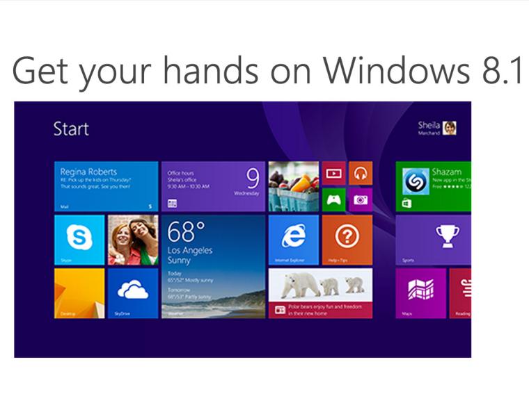 Windows 8.1 Microsoft