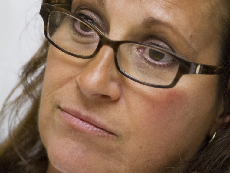 Margaret Snopkowski, 52, of Fowlerville, MI, receives treatment at St. Joseph Mercy Brighton Health Center, in Brighton, MI, on Monday, October 14, 20...