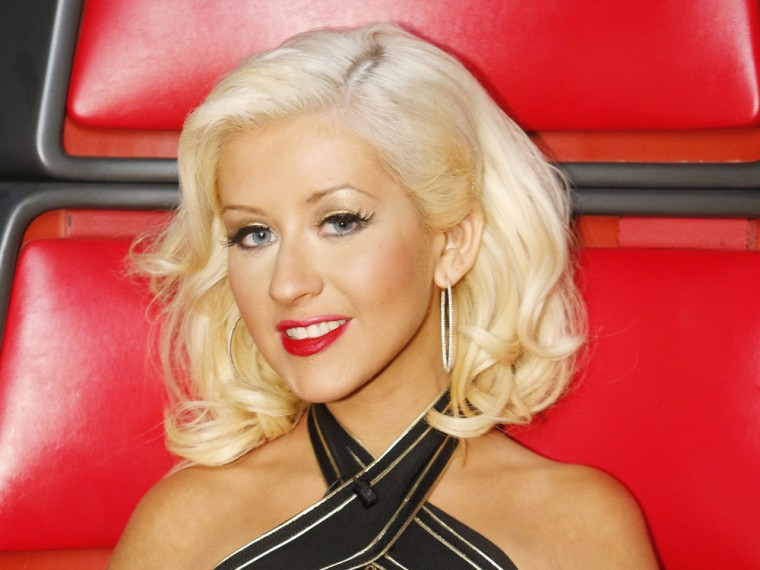Christina Aguilera bugs out over a fly on 'The Voice'