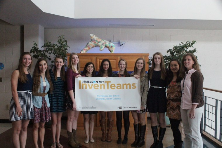 Providence Day School InvenTeam picture