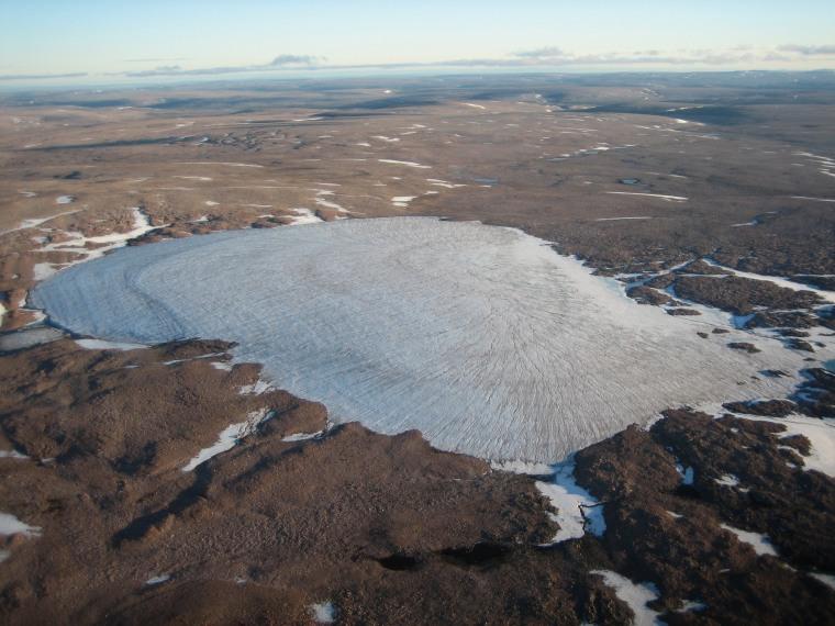 Arctic temperatures at 44,000-year high