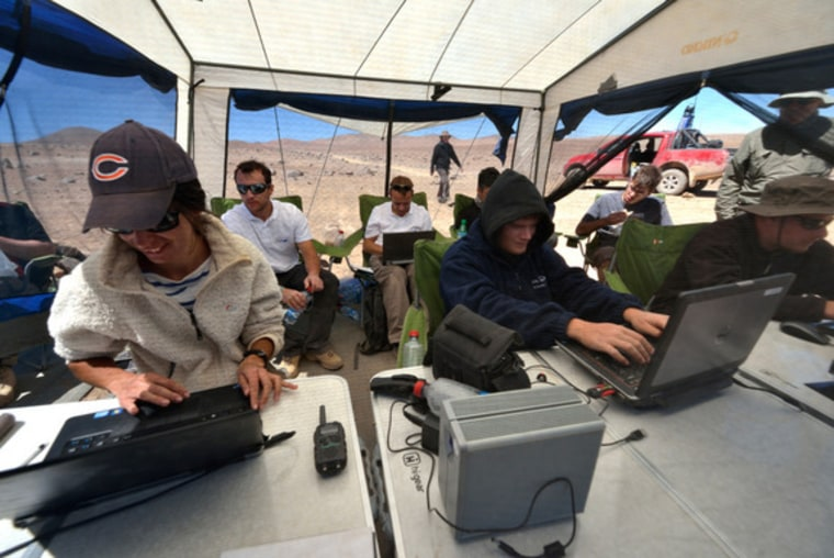 European Mars rover prototype takes big test drive in Chile desert