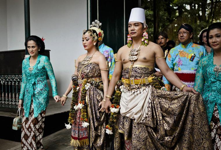 KPH Notonegoro and Gusti Kanjeng Ratu Hayu