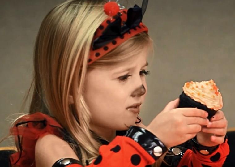 girl cupcake