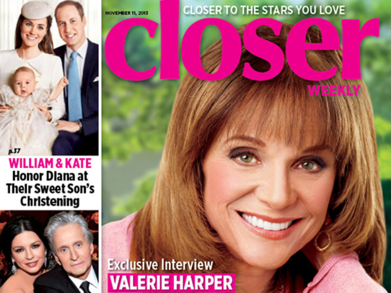 Image: Valerie Harper on the cover of Closer