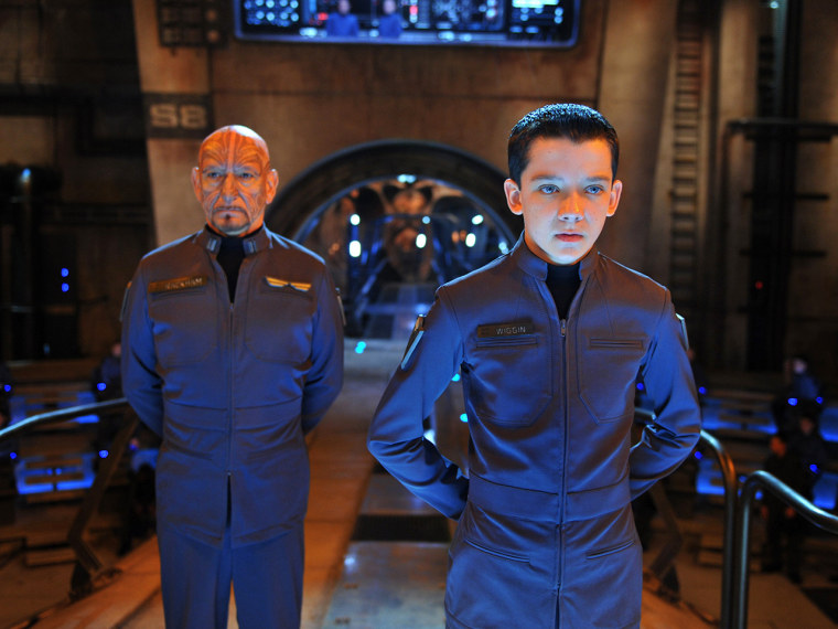 This image released by Summit Entertainment shows Ben Kingsley, left, and Asa Butterfield in a scene from