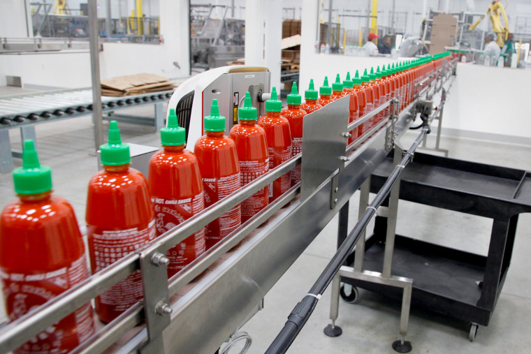Pour on the Sriracha! Judge sides with hot sauce maker over odor -- for now