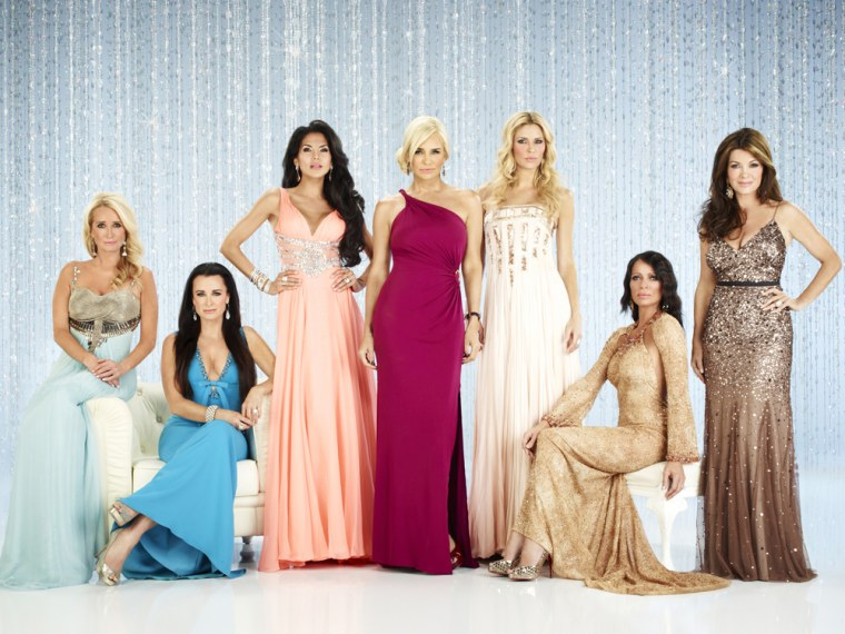 "Image: Cast of ""Real Housewives of Beverly Hills"""