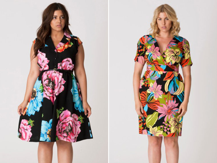 New York's Fashion Week will include a plus-size label for the first time. Items from Cabiria offer clothing for women sizes 12-24.
