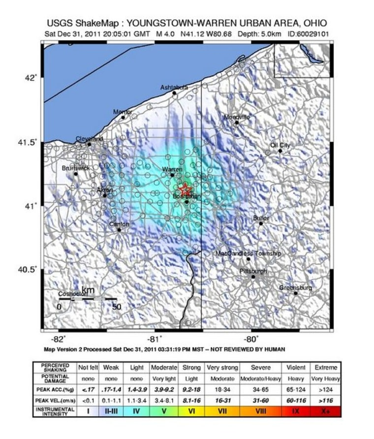 Confirmed: Fracking practices to blame for Ohio earthquakes