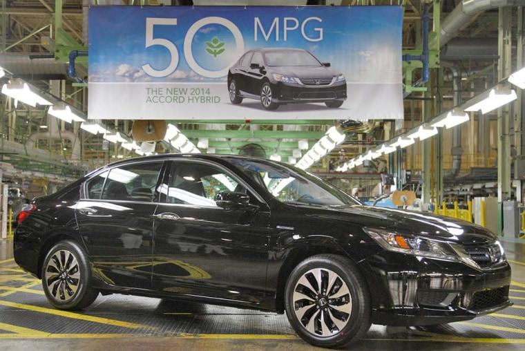honda hybrid boasts record 50 mpg for city driving. Black Bedroom Furniture Sets. Home Design Ideas