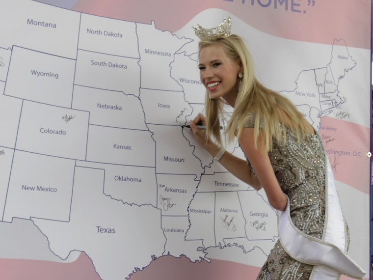 Miss America contestant born without forearm: 'I'm just like you'
