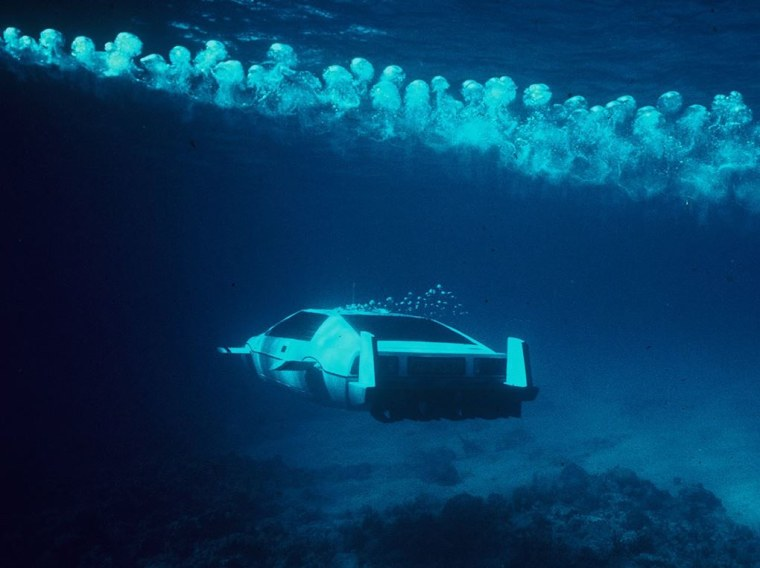 The submersible Lotus Esprit from the James Bond movie,