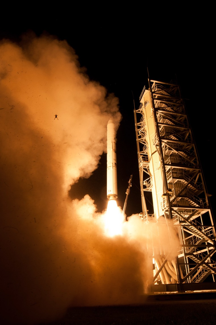 Image: Frog at launch