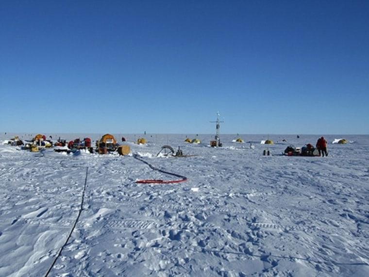 Warm water under Antarctic glacier spurs astonishing rate of melting