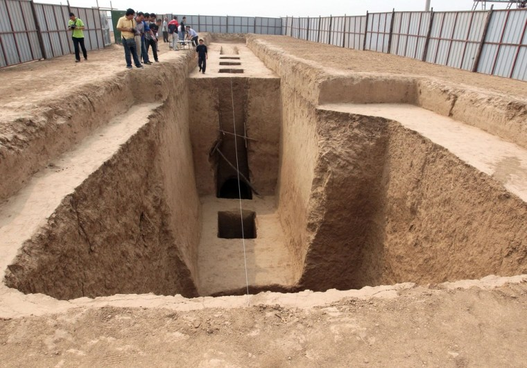 Ancient Chinese tomb adds to tale of scandalous 'female prime minister'