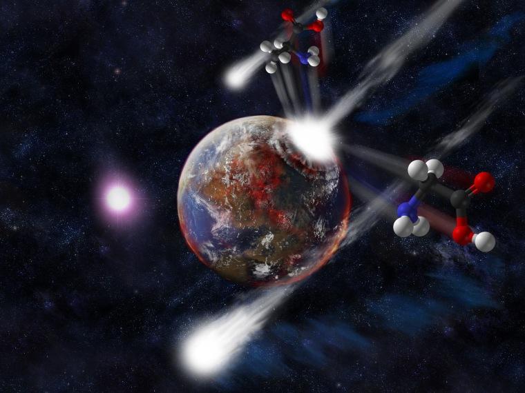 Image: Comet impact