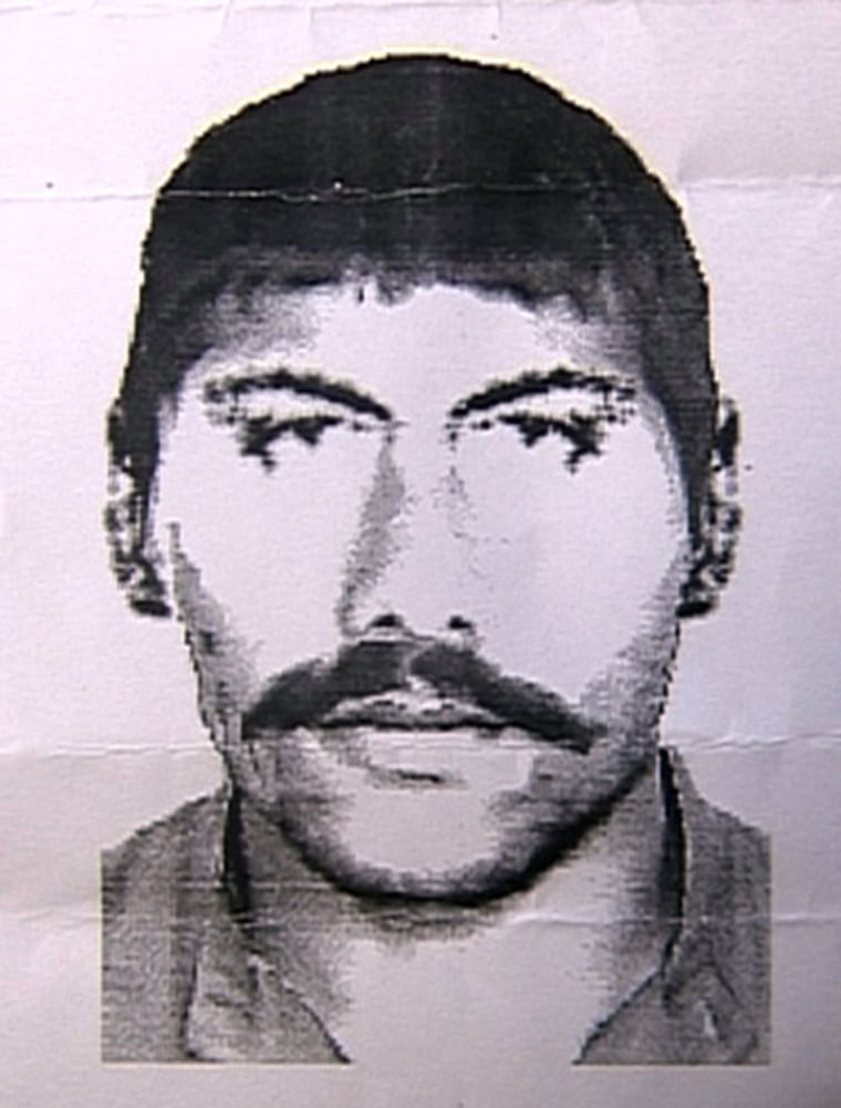 Police released a sketch of a suspect in the rape of a five-year-old girl in Lahore. Pakistan.