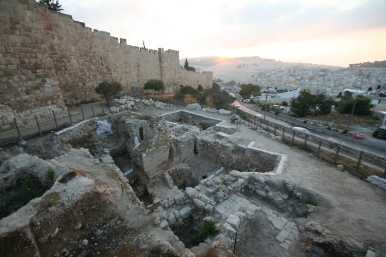 Image: Archaeological dig