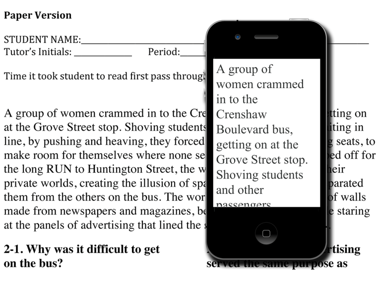 Matthew H. Schneps uses e-readers to help dyslexics read.