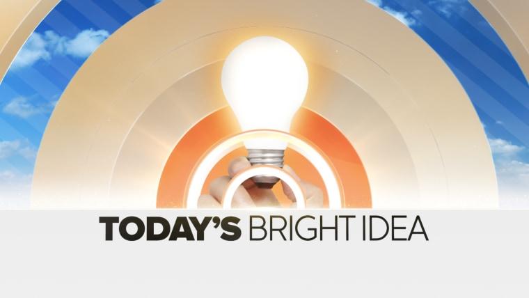 Image: TODAY's Bright Idea