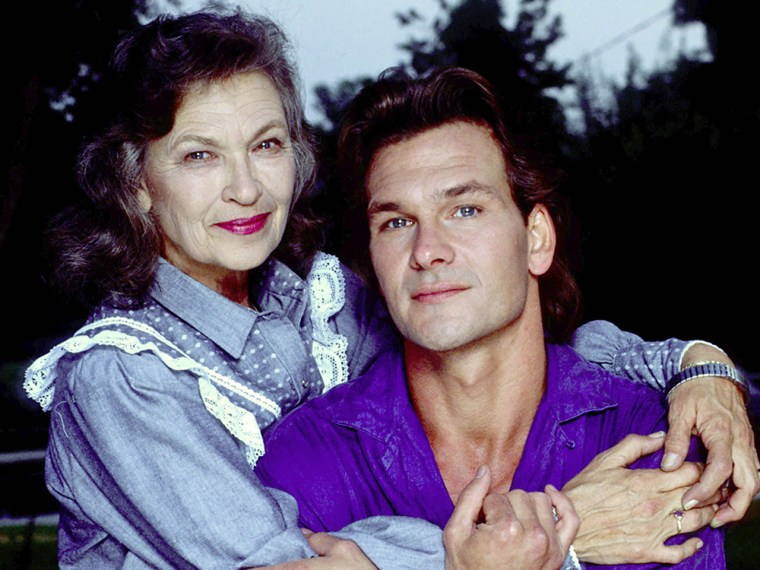 IMAGE: Patsy and Patrick Swayze in 1989