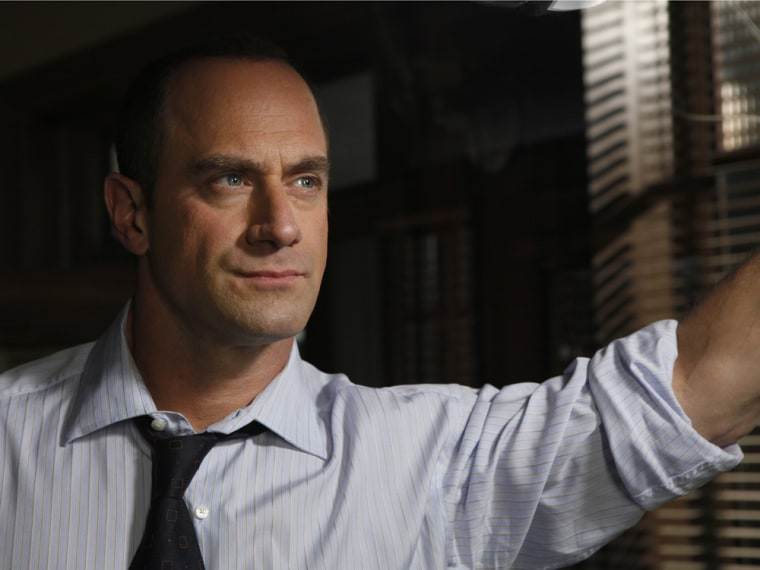Image: Chris Meloni as Elliot Stabler
