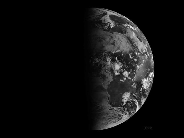Image: Earth at September equinox 2011