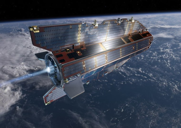 Doomed 'Ferrari of space' satellite to fall back to Earth -- somewhere ...