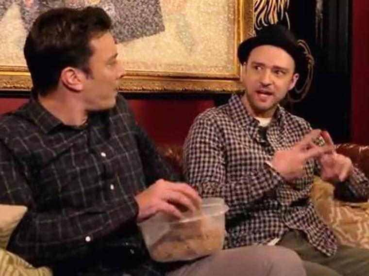 Image: Jimmy Fallon and Justin Timberlake