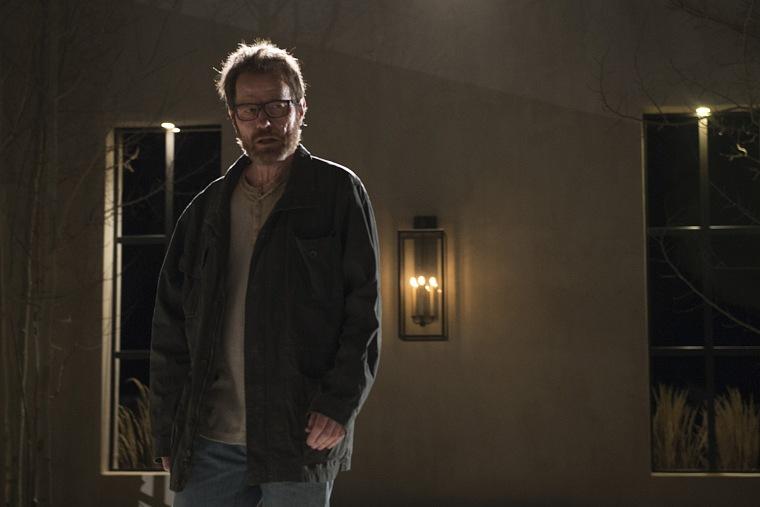 Three-time Emmy winner Bryan Cranston as Walter White