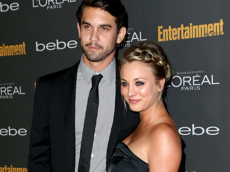Ryan Sweeting and Kaley Cuoco have been dating for three months.