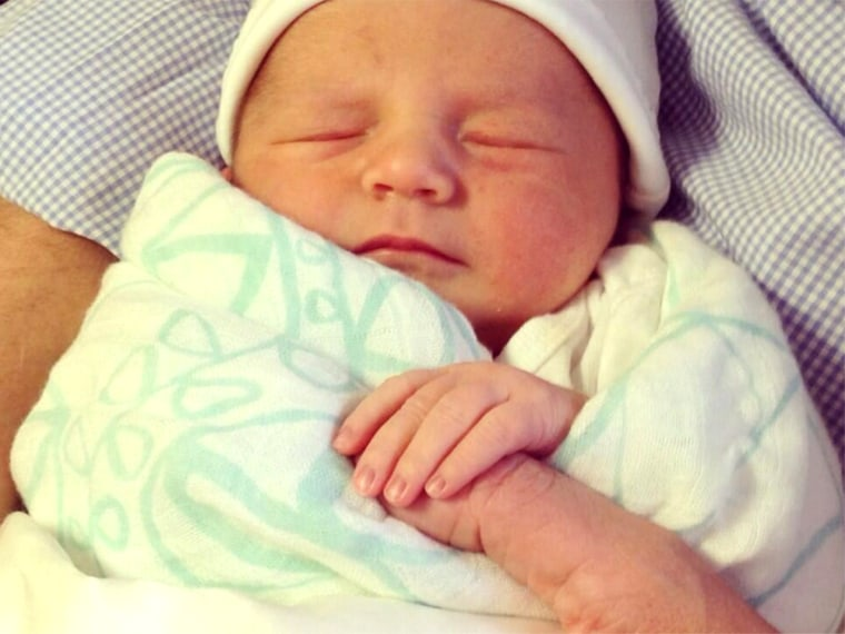 It's baby week on TODAY! Share pictures of your newborn using the hashtag #BornTODAY.