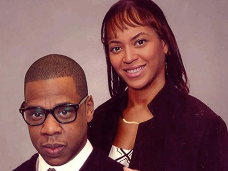 Jay-Z and Beyonce as ordinary people.