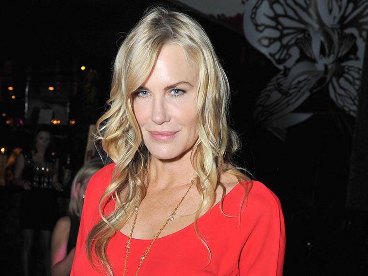 HOLLYWOOD, CA - JUNE 27:  Actress Daryl Hannah attends the premiere after party of 'The Hot Flashes' at Lure Nightclub Hollywood on June 27, 2013 in H...